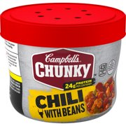 Campbell's ChunkyChili with Beans, 15.25 oz. Microwavable Bowl