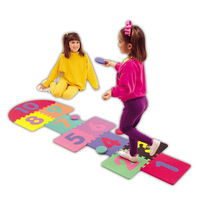 Alessco 1250 Soft Floors  2 x 7 Hopscotch Set - Pack of 9