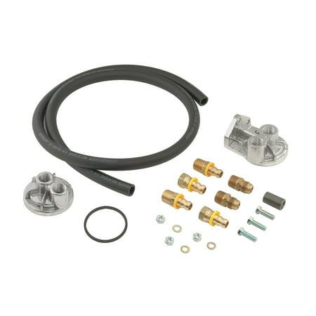 Mr. Gasket 7682 Engine Oil Filter Remote Mounting (Mr Gasket 1270 Oil Filter Conversion Kit)