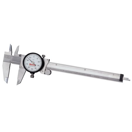 120 Series Dial Calipers, 0 in-6 in, Stainless