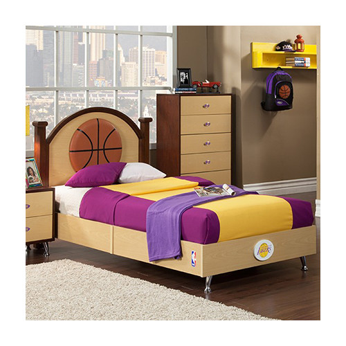 Najarian Furniture NBA Twin Panel Bed