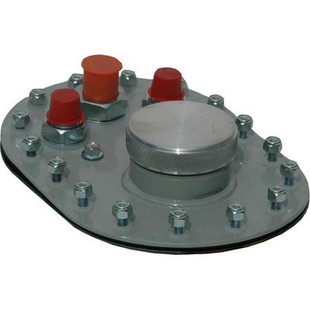 RCI 16 Bolt Flange Fuel Cell Filler Plate Kit P/N 7032B (Rci)