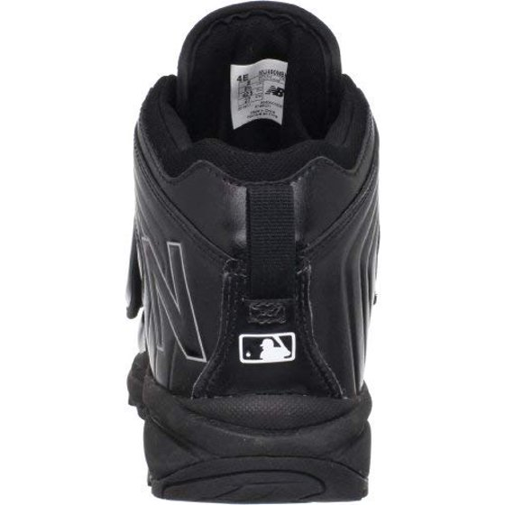656f622fa4e6a ABZORB cushioning in the heel and forefoot will provide long-lasting  comfort. Color: Black New Balance Men's Baseball Umpire Behind Plate Shoe,Black,8  D US