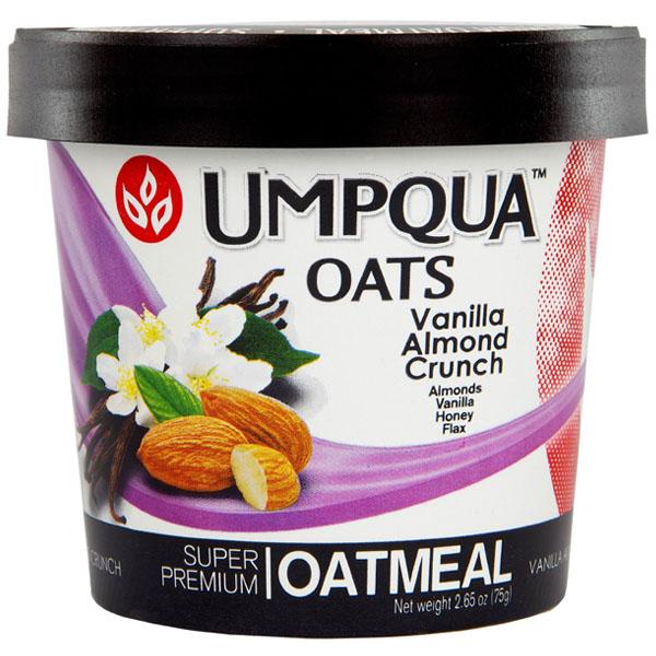 UMPQUA Oats Vanilla Almond Crunch Super Premium Oatmeal 2...