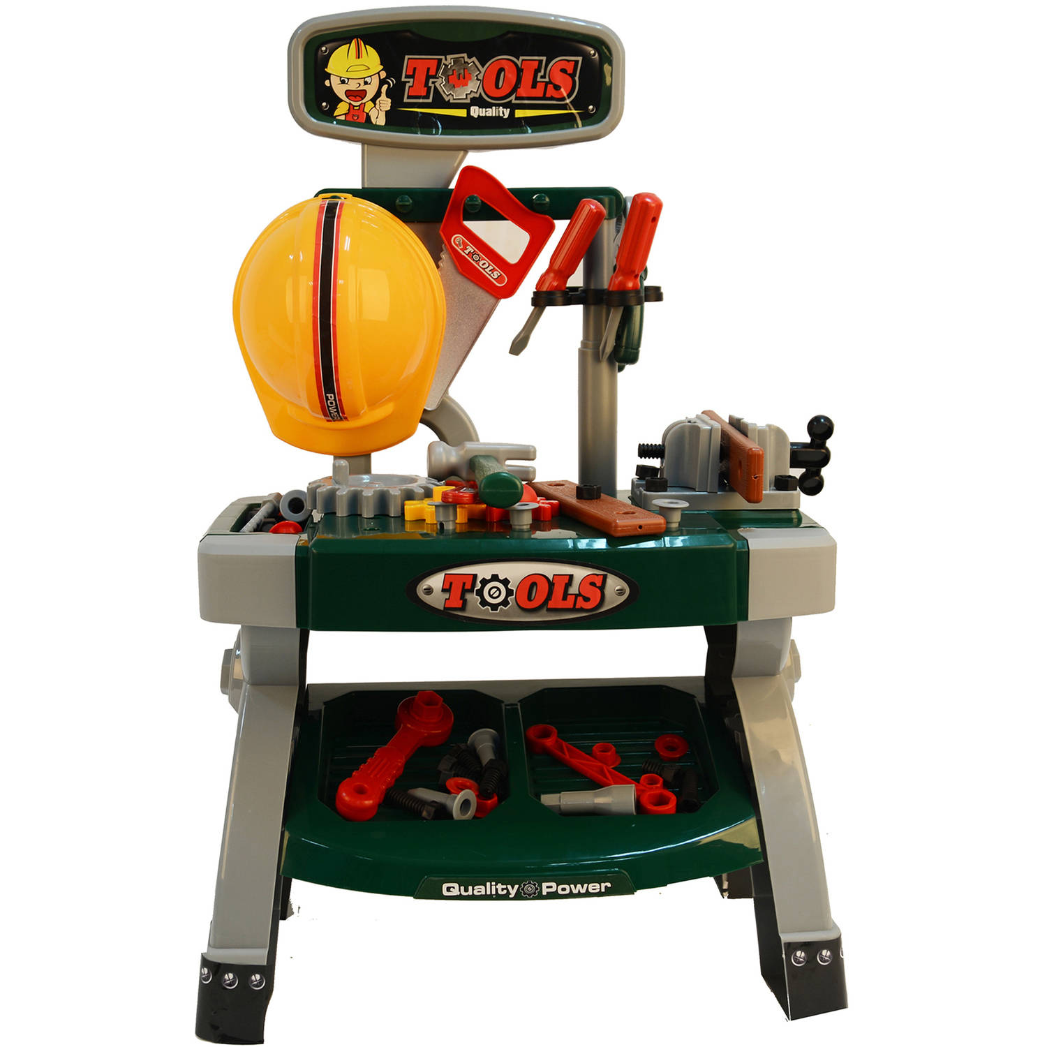 Kids Adventure 40 Piece Tool Work Bench Table Set