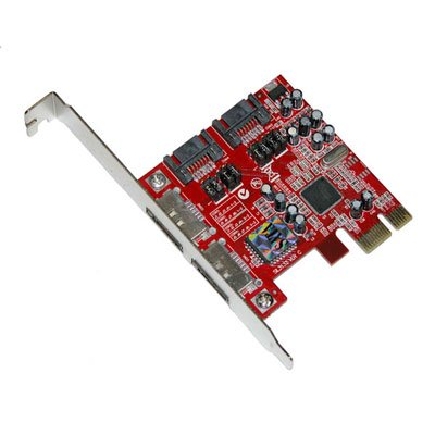 MASSCOOL XWT-PCIE10 PCI-e 4 port SATA2 controller card for Motherboard Retail