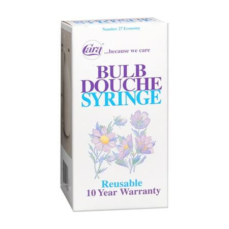 Cara Douche Syringe Bulb For Female, Economy Size 27 - 1 (Best Douche For Men)