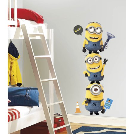 Minions Despicable Me - Giant Minion Wall - Giant Minion