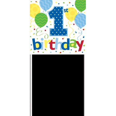 pack of 6 birthday boy 1st birthday yard banner party