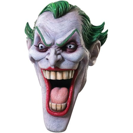 Joker Adult Halloween Latex - Adult Joker Latex Mask