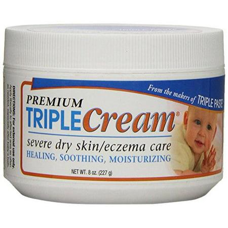 Premium Moisture Repair Triple Moisturizer Cream for Very Dry Skin Eczema Care