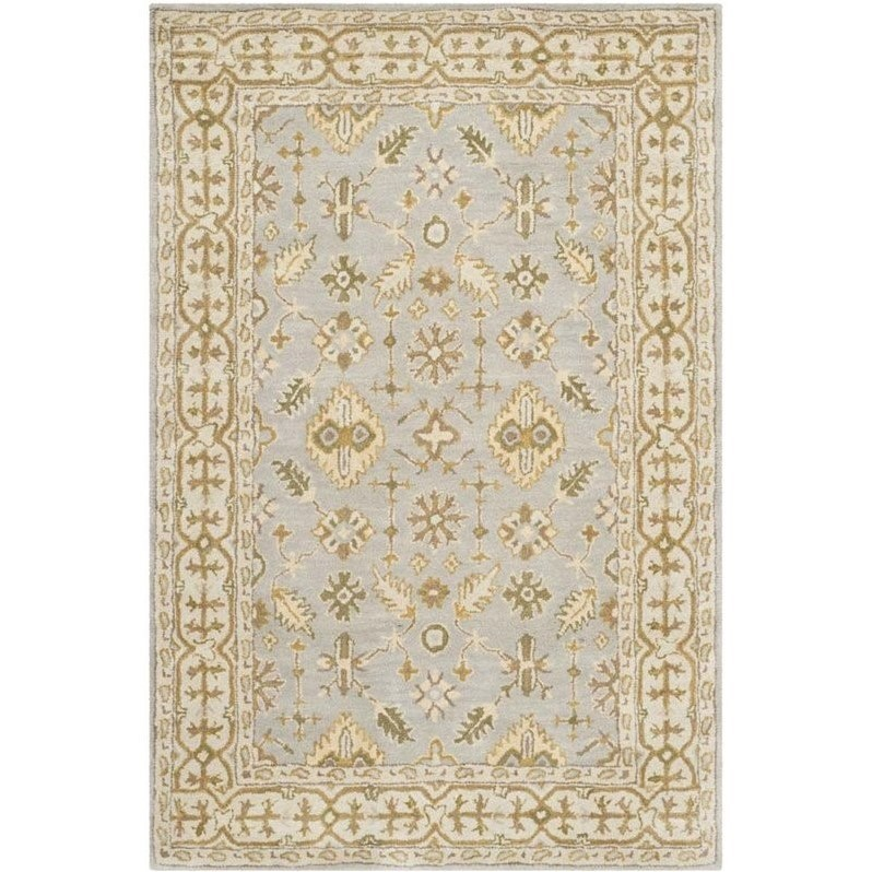 Safavieh Classic Light Blue Traditional Rug - 4' x 6'