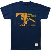 John Coltrane Men's  Focused Vintage T-shirt Navy