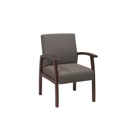 Office Star Work Smart Deluxe Guest Reception Waiting Room Chair In Taupe