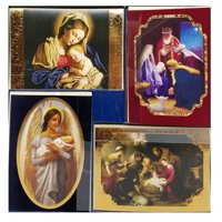 Hallmark Style 40-Count Christmas Holiday Cards with Envelopes - Religious