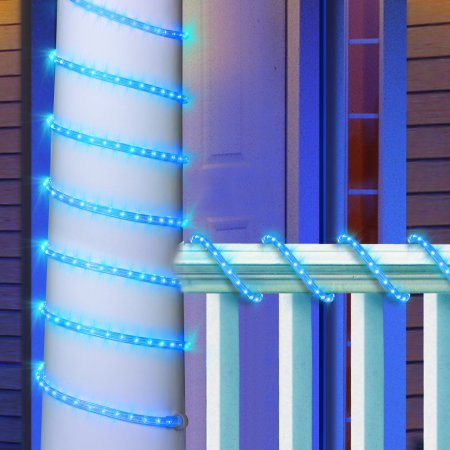 Holiday time blue led rope light 15 feet walmart holiday time blue led rope light 15 feet aloadofball Choice Image