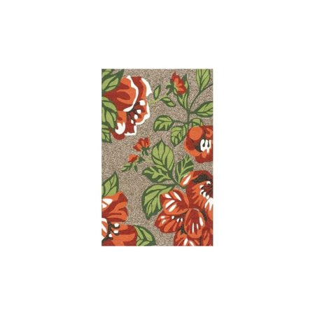 Nuloom 5' x 8' Hand Hooked Michaels Rug in Terracotta