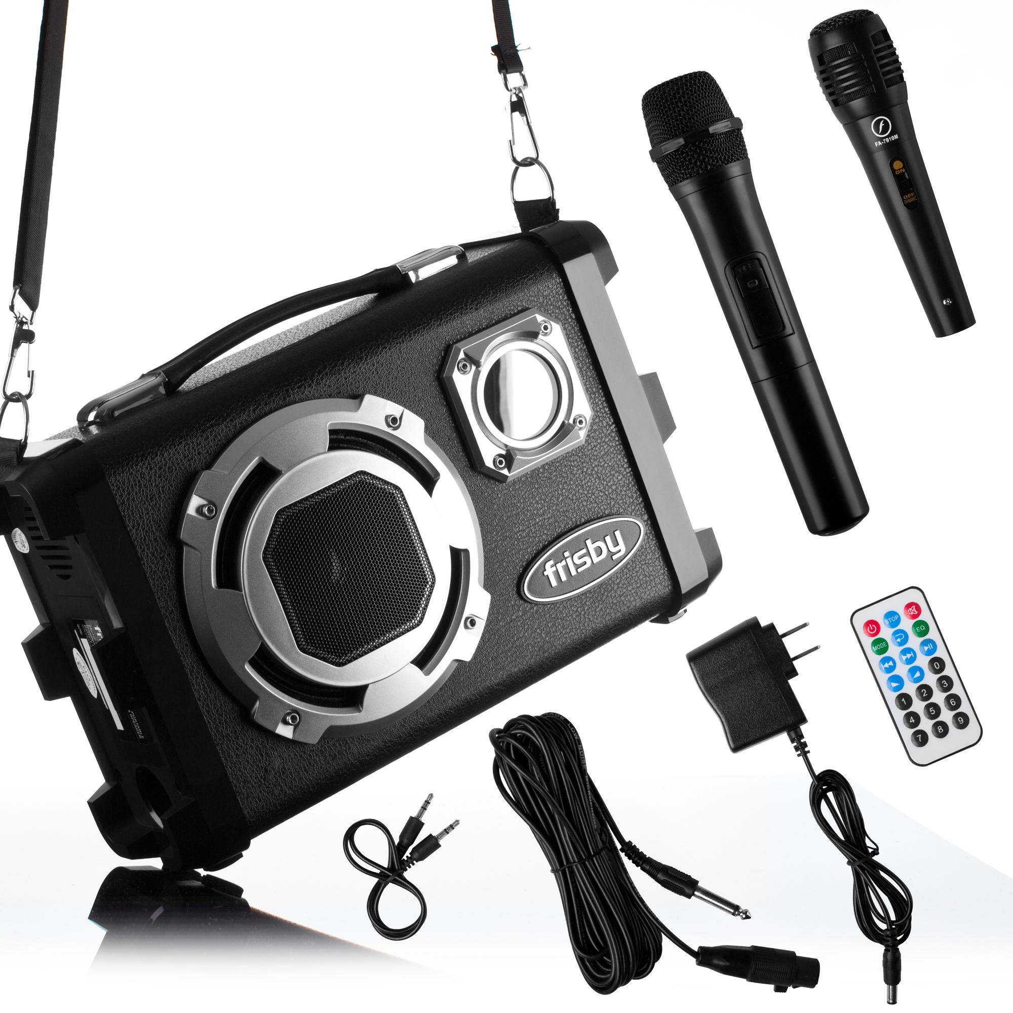 Frisby FS-4150P Portable Rechargeable Bluetooth Karaoke