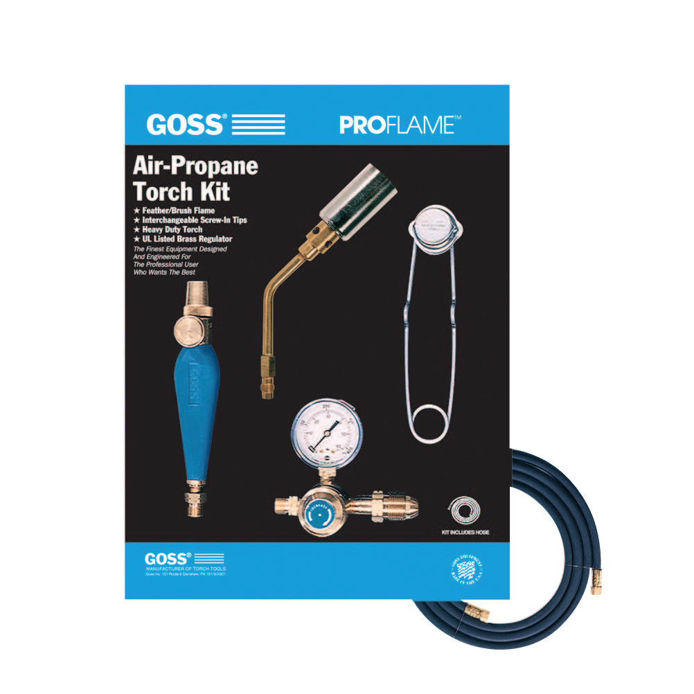 Goss Air-Propane Torch Outfits, 1 3/4 in, Propane, Heating; Soldering