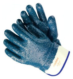 MCR Safety Predator Rough Finish Nitrile Coated Gloves Large, 12 Pairs