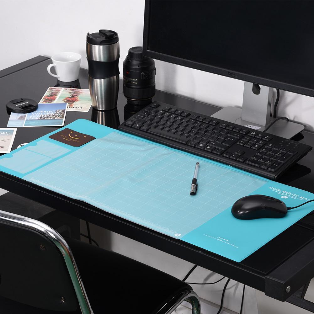 VGEBY Large Size Multifunctional Desk Mouse Pad Waterproof Anti-slip Desktop Mat with Pockets, Mouse Pad, Desktop Mat