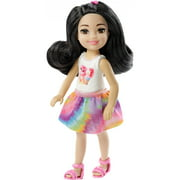 Barbie Club Chelsea Doll with Kitten & Ice Cream Themed Outfit