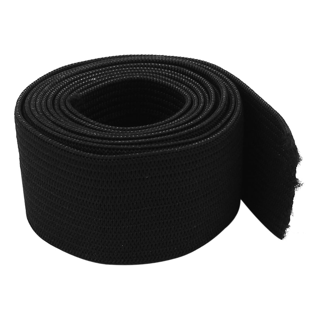 Household Trousers Pants Sewing Stretchy Band Black 25mm Wide 1M Long for Home Essential