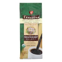 Teeccino Chicory Herbal Coffee Alternative, French Roast Organic, 11 Oz
