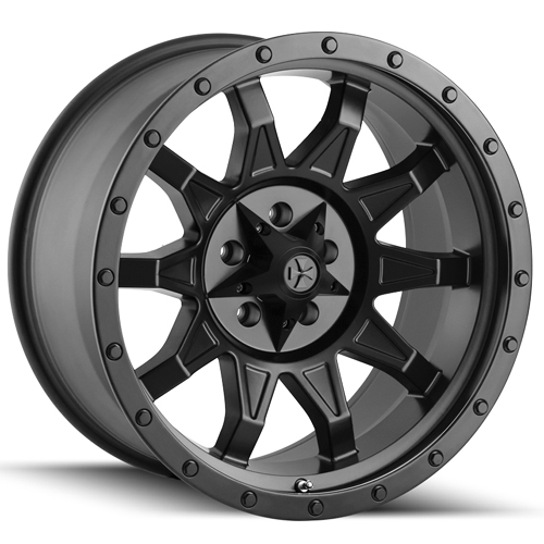 "18"" Inch Cali Offroad 9301 Roadkill 18x9 5x150 +0mm Matte Black Wheel Rim"
