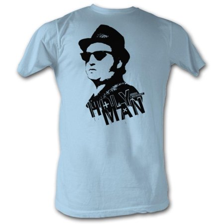 The Blues Brothers   Holy Man Apparel T Shirt   Blue