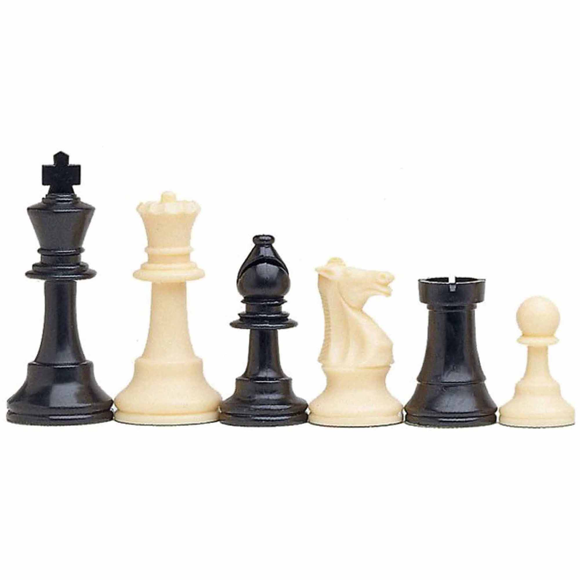 best value tournament chess set 90 plastic filled chess pieces