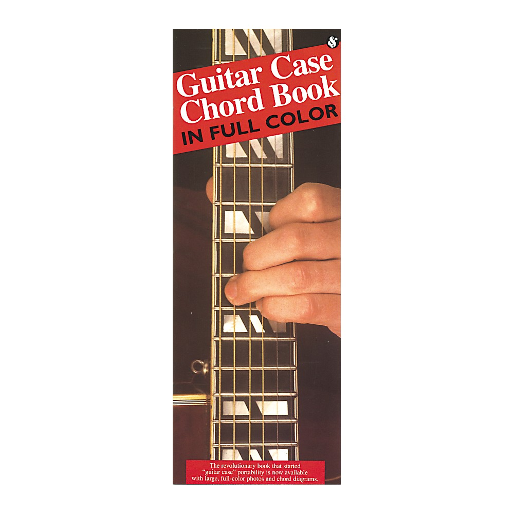 Guitar Case Chord Book in Full Color - Compact Music Guides Series