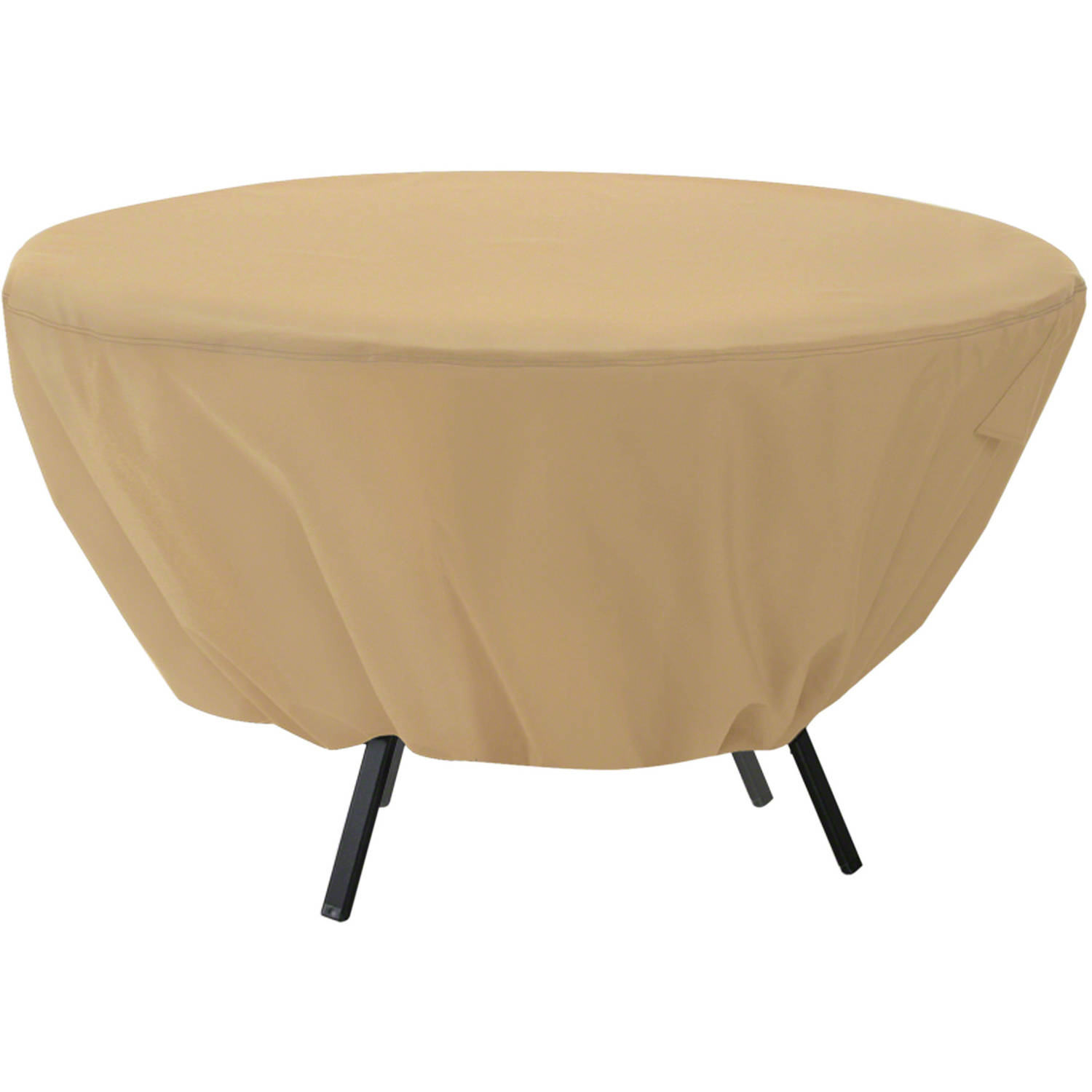 Classic Accessories Terrazzo® Round Patio Table Cover - All Weather Protection Outdoor Furniture Cover (58202-EC)