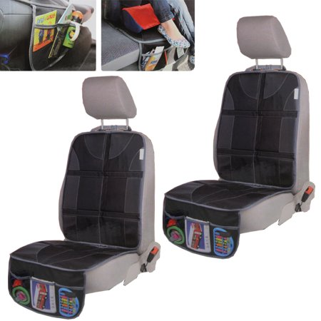 2pc Car Seat Protector Organizer Infant Baby Easy Clean Waterproof Nonslip Us