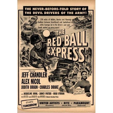 Red Ball Express POSTER Movie B Mini Promo