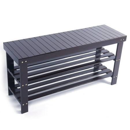 Clearance! Shoe Rack Bench, 3-Tier 35