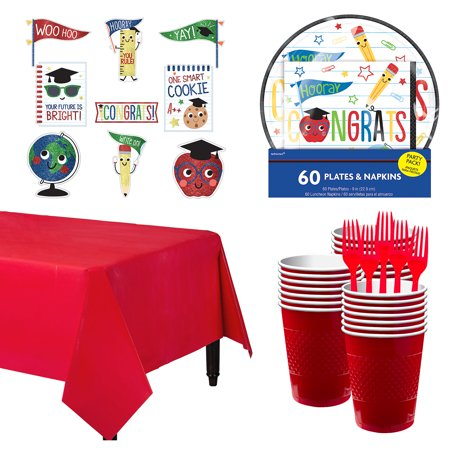 Party City Future Dream Graduation Tableware Kit, Includes Plates and Napkins](Party City Stafford)
