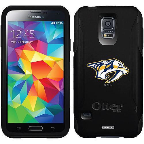 Nashville Predators Primary Logo Design on OtterBox Commuter Series Case for Samsung Galaxy S5