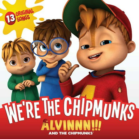 Alvin and The Chipmunks: We're The Chipmunks (CD)