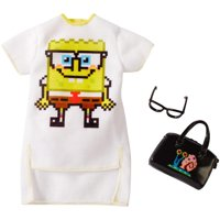 Barbie Spongebob Squarepants Fashion Pack with 3-Themed Pieces