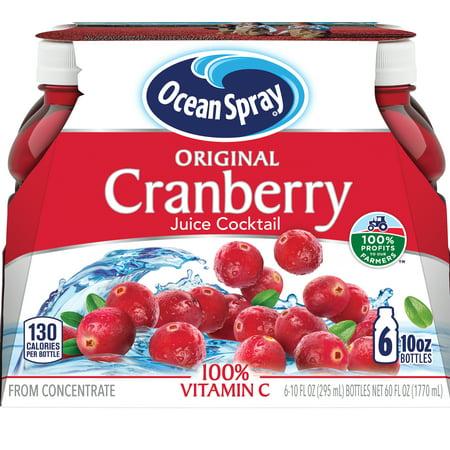 Ocean Spray Cranberry Juice Cocktail, 10 Fl. Oz., 6 Count Orange Juice Cocktails