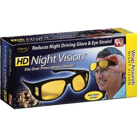 0c7ffb3bd6 As Seen on TV Nightvision Wraparound Sunglasses - Walmart.com