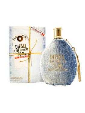 Diesel Fuel For Life Denim Eau de Toilette, Perfume for Women, 2.5 Oz