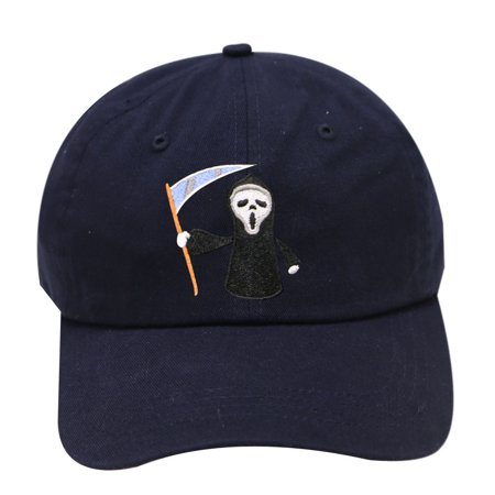 City Hunter C104 Halloween Scary Movie Cotton Baseball Caps - Navy](Scary Movies To Rent For Halloween)