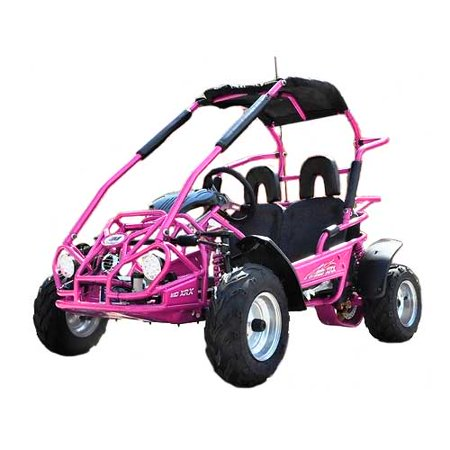 - Pink TrailMaster Mid XRX 200CC High Quality Go Kart w/Pull Start & Electric Start