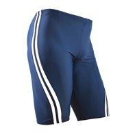 Adoretex Men's Splice Jammer Swimsuit (MJ004) - Navy/White - 26