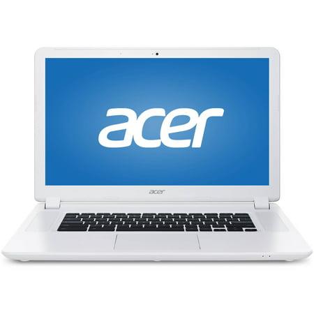 Acer Cb5 571 C4g4 15 6  Chromebook  Chrome Os  Intel Celeron 3205U Processor  4Gb Ram  16Gb Solid State Drive