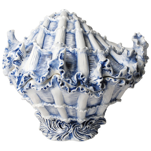 Kaldun & Bogle Capri Shell 2 qt. Cookie Jar by Kaldun & Bogle