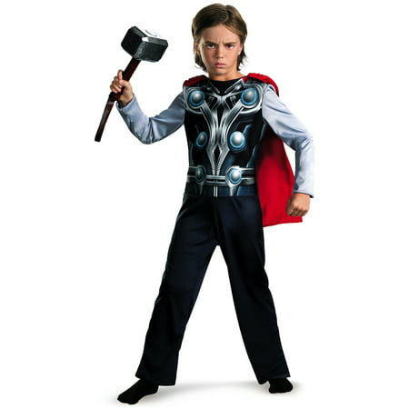 Kids Thor Costume (Thor Avengers Basic Child Dress Up)