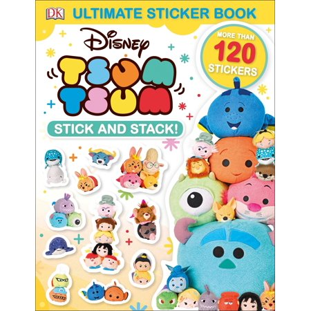 The Ultimate Stack (Ultimate Sticker Book: Disney Tsum Tsum Stick and Stack!)